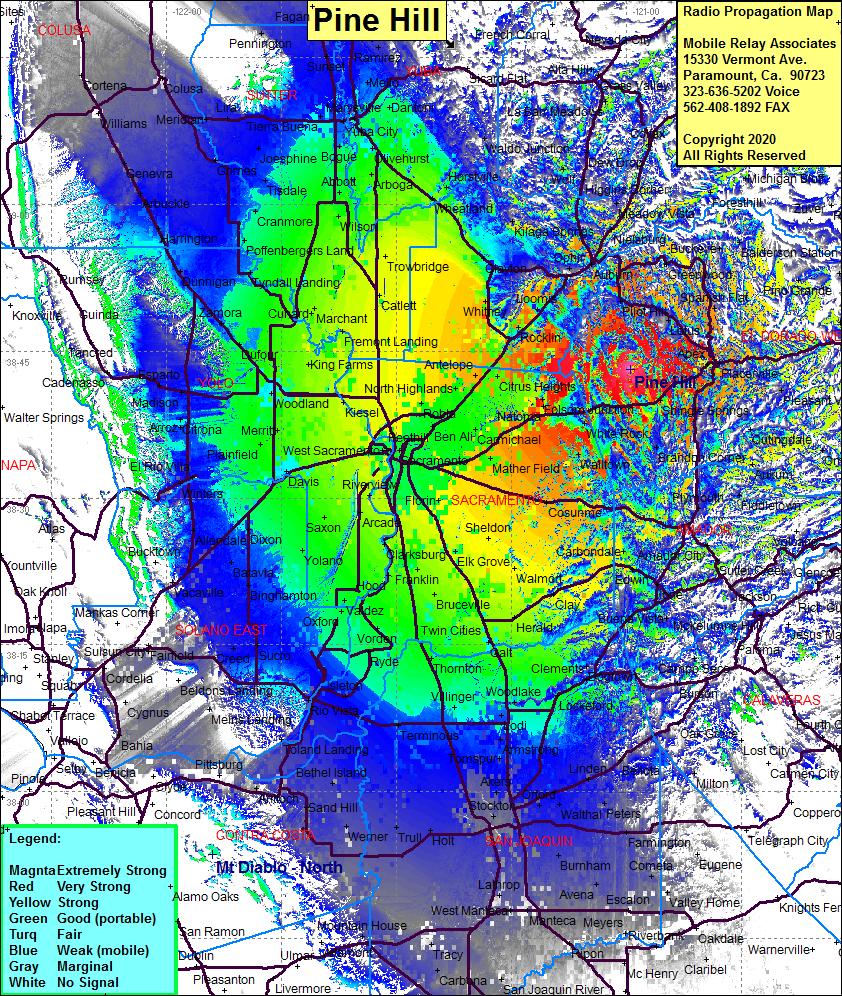 Radio Tower Site - Pine Hill, Clarksville, Eldorado County ...