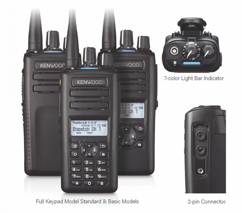 KENWOOD NX-1200E3 VHF DMR MULTIPROTOKOLL HANDFUNKGERÄT ANALOG DIGITAL